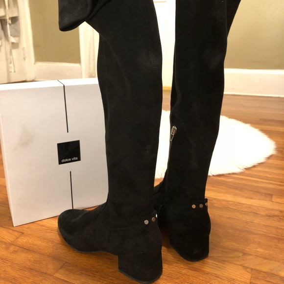8c71e38b5c0 Dolce Vita Shoes - Dolce Vita JIMMY Over the Knee Boots